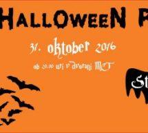 Halloween parrrty v MCT