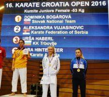 Urša Haberl bronasta na odprtem prvenstvu Hrvaške