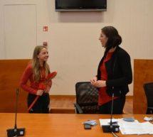 Izbrana je Junior ambasadorka Občine Trbovlje