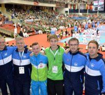 Blaž Hribovšek je nastopil na svetovnem članskem prvenstvu