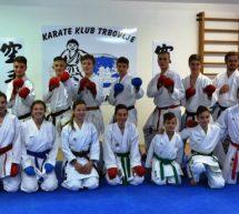 Trboveljski karateisti do svojih klubskih prostorov
