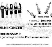Poslovilni koncert vokalne skupine UOSM