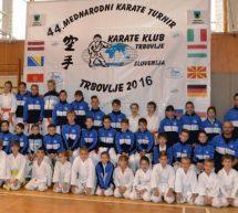 """Trboveljčani blesteli na 44. mednarodnem karate turnirju """"Trbovlje 2016"""""""