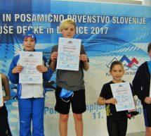 Zimsko moštveno in posamično državno prvenstvo za mlajše deklice in dečke v Kranju