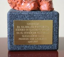 Čestitke gledališki skupini Špilčki OŠ Trbovlje
