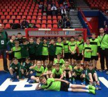 Mini rokometaši na prvem mednarodnem turnirju v tujini