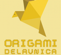 Izdelajte origami kanarčka