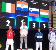 Blaž Hribovšek bronast na odprtem prvenstvu Hrvaške