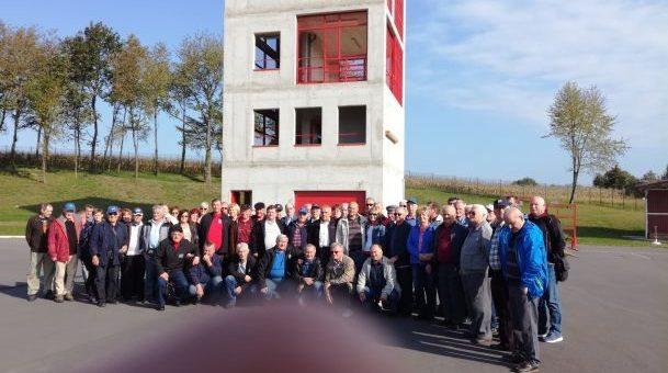 Trboveljski starejši gasilci – veterani na obisku v prelepem Prekmurju