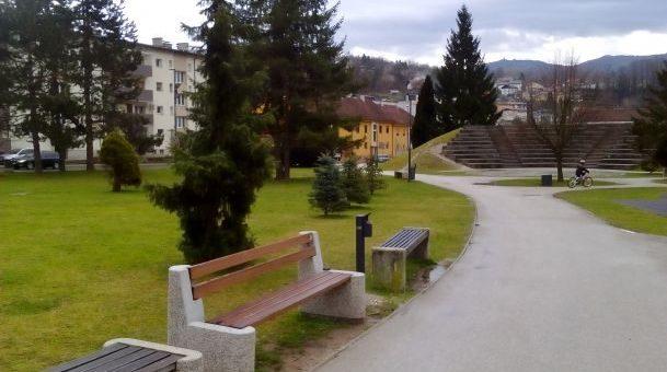 Novosti v mestnem parku