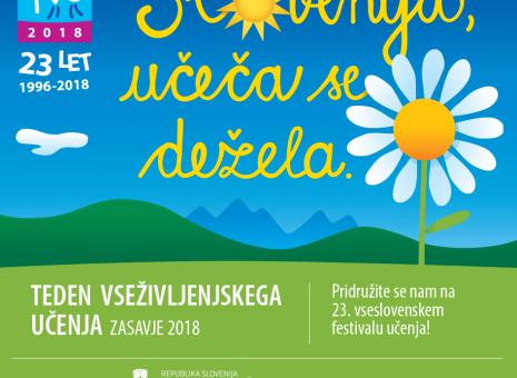 Koledar prireditev TVU 2018 in Parada učenja tudi v Zasavju!