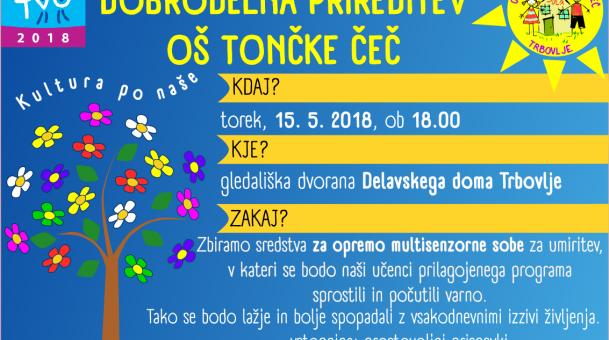 Dobrodelna prireditev OŠ Tončke Čeč – Kultura po naše