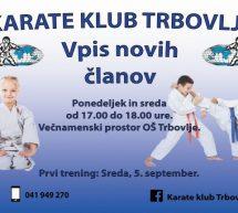 Začetni tečaj karateja