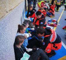 Zdravstveni dom Trbovlje organiziral veliko reševalno vajo
