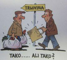 Nič več brezplačnih plastičnih vrečk