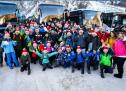 Sonce, sneg, skoki in glasno navijanje!