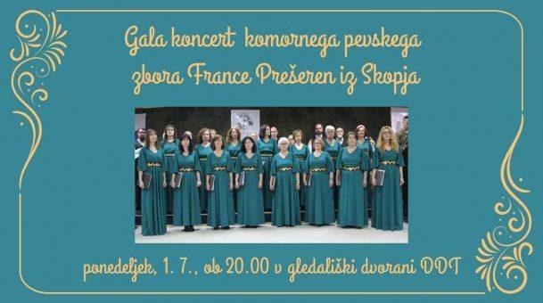 Gala koncert komornega pevskega zbora France Prešeren