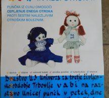 Vabilo na razstavo punčk iz cunj UNICEF