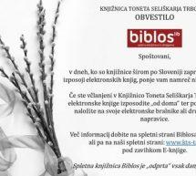 Spletna knjižnica Biblos
