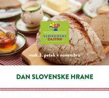 DAN SLOVENSKE HRANE, 20. november 2020
