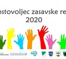 Prostovoljci zasavske regije 2020 so…