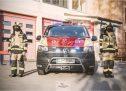 Predaja novega gasilskega vozila trboveljskim gasilcem