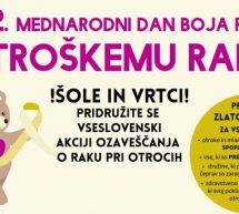 Mednarodni dan boja proti otroškemu raku