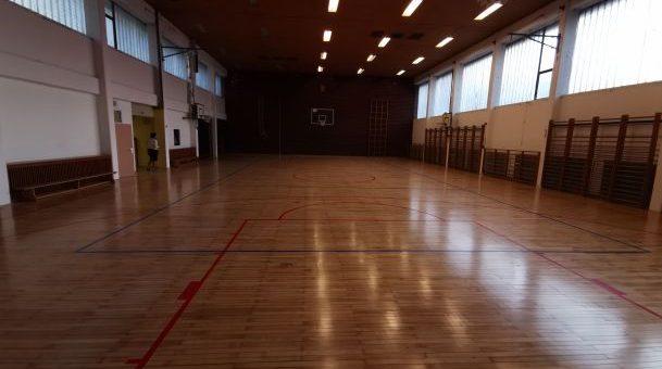 Prenovljen parket v telovadnici Podružnične šole Alojz Hohkraut Trbovlje