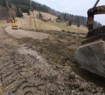 Prenova cestnih odsekov na Vrheh