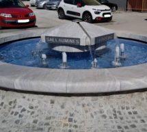 Ste opazili imena na fontani?