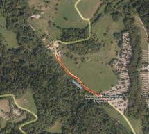 Začetek investicije prenove cestnega odseka pokopališče – Gostišče Brin