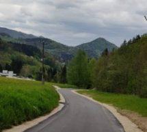 Zaključek prenove ceste pokopališče – Brin