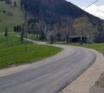 Cesta na Vrheh obnovljena