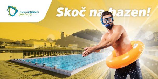 Objavljen program Letnega kopališča Trbovlje