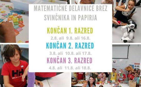 S.O.S. šola pripravlja poletne enodnevne delavnice uporabne matematike