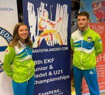 Karate – Urša Haberl peta na evropskem prvenstvu