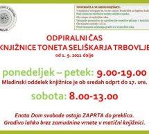 Aktualne knjižnične novičke Knjižnice Trbovlje