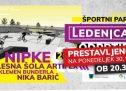 Odprtje Športnega parka Ledenica PRESTAVLJENO