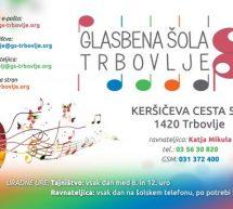 Glasbena šola Trbovlje vabi k naknadnemu vpisu učencev