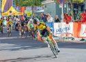 Trboveljčan Klopčič Leon na kolesarski dirki v Celovcu