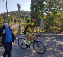 Trboveljčan Klopčič Leon na kolesarski dirki v Italiji