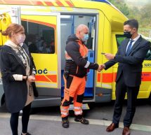 Prevzem novih vozil v Zdravstvenem domu Trbovlje