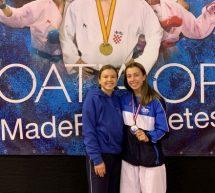 Karate: Urša Haberl in Uroš Markuljevič bronasta na odprtem prvenstvu Hrvaške